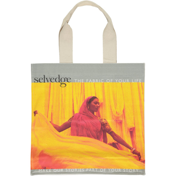 The Selvedge Tote, Issue 77 Chakra
