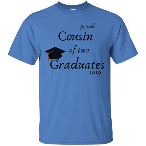 Graduation Royal Blue Tee - Cousin Of 2 Grads