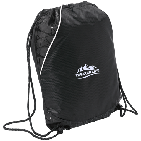 Trekker Life Active Two-Toned Cinch Pack - Wht