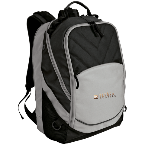 Black Father Stories Laptop Computer Backpack