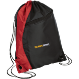 The Word Server Colorblock Cinch Pack