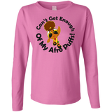 Afro Anime Ladies Long Sleeve T-Shirt 2