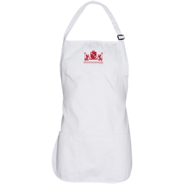 """Kinky Perfect Crest"" Medium Length Apron"