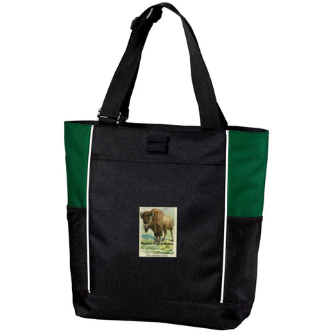 Nature's Print Collection Zipper Tote Bag