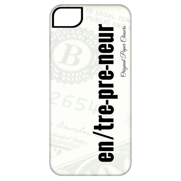 """Entrepreneur"" Paper Chasers iPhone 5 Tough Case"