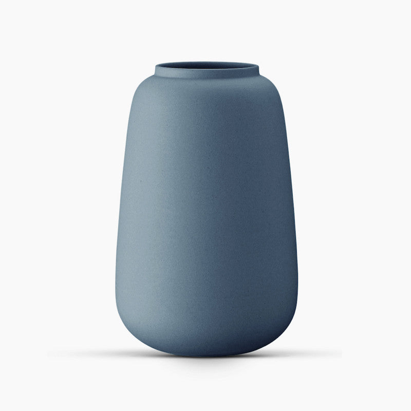 Ditte Fischer Classic Vase, Small - Indigo - The Fjord Store