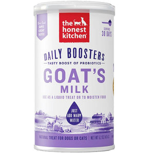 15% OFF [NEW]: The Honest Kitchen® Daily Boosters Instant Goat Milk with Probiotics Dog & Cat Supplement (147g)