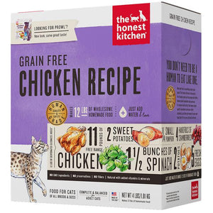 15% OFF : The Honest Kitchen® Prowl Chicken Grain-Free Dehydrated Cat Food (2 sizes)