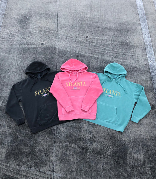 atl1996 City 96 Limited Edition Dyed Hoodie
