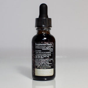 500mg Vanilla Bean Hemp Drops - FULL SPECTRUM