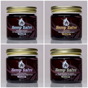 Hemp Salve Sample Pack