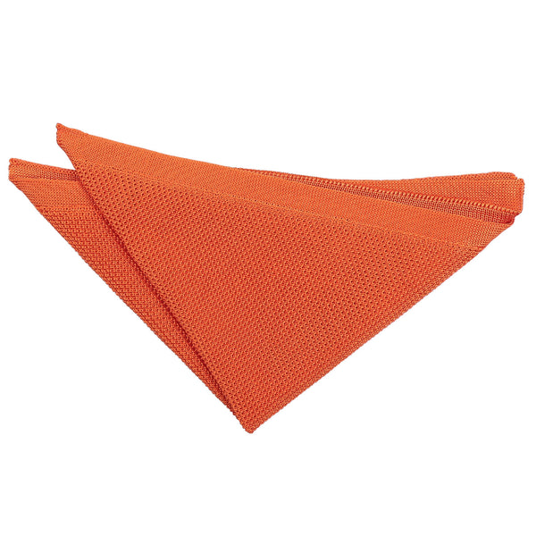 Plain Knitted Pocket Square in 16 colours
