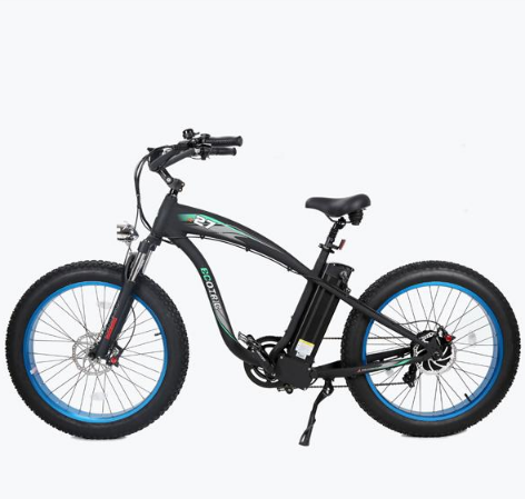 Ecotric Hammer 1000w Fat Tire Electric Bike