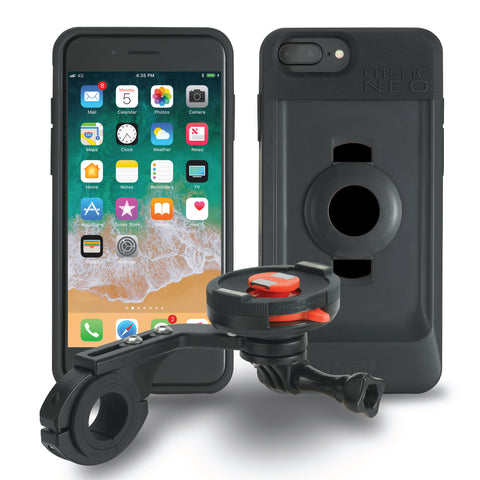Tigra Sport FitClic Neo iPhone 6+/6s+/7+/8+ (Forward Mount) Bike Case Kits