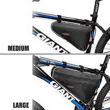 Ibera Bicycle Triangle Frame Bag, Large