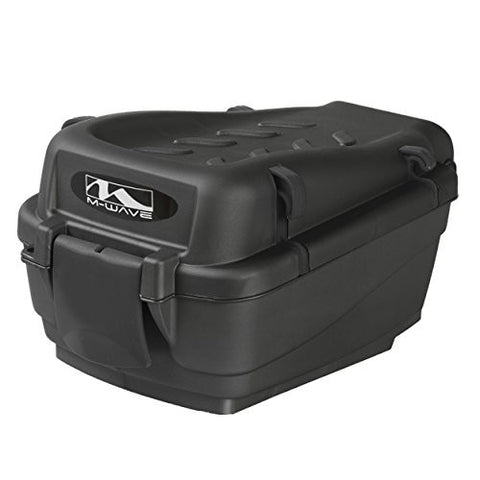 M-Wave Amsterdam 7.5 L Top Case Box, Black