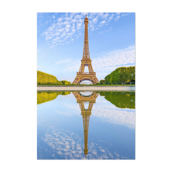 Eiffel Tower Paris France Urban Art Print