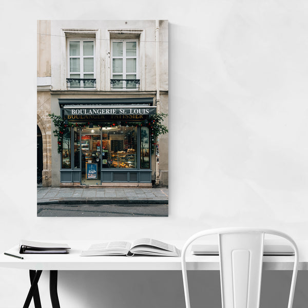 Paris France Bakery Sign Urban Art Print
