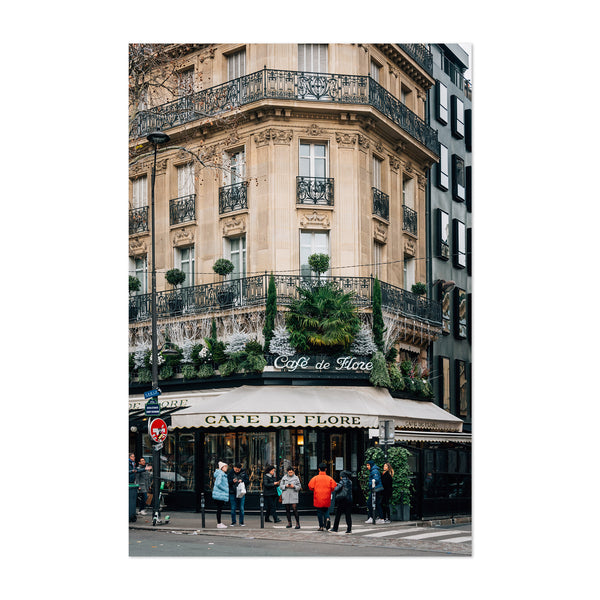 Cafe Paris France Photography Art Print