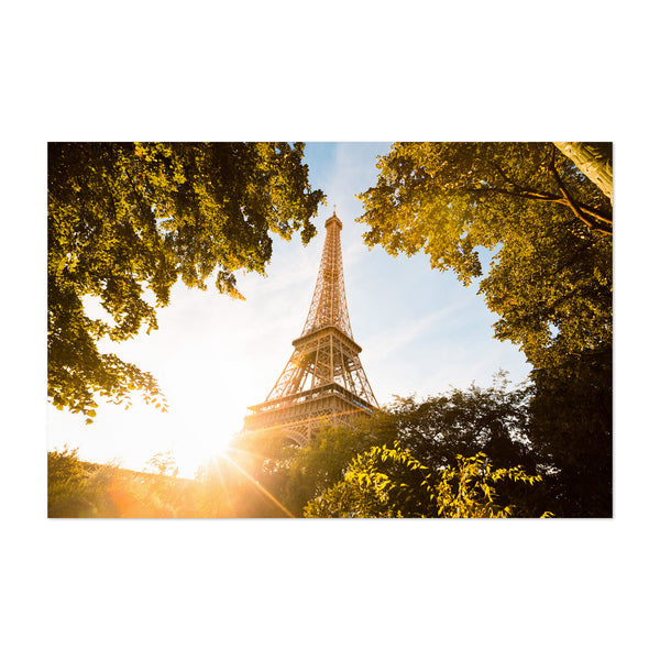 Eiffel Tower Paris France City Art Print
