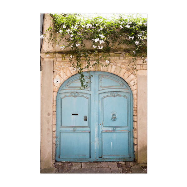 France Door Photography Urban Art Print