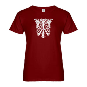 Womens Bones Costume Ladies' T-shirt