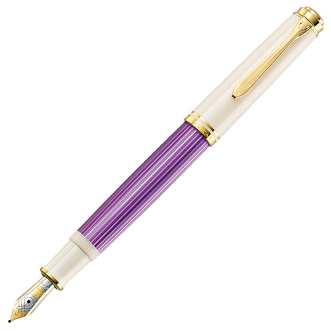 Pelikan M600 Violet-White Fountain Pen - Special Edition