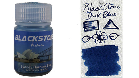 Blackstone Sydney Harbour Blue Ink (30ml bottle)