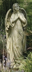 "36"" PRAYING ANGEL GARDEN FIGURE"