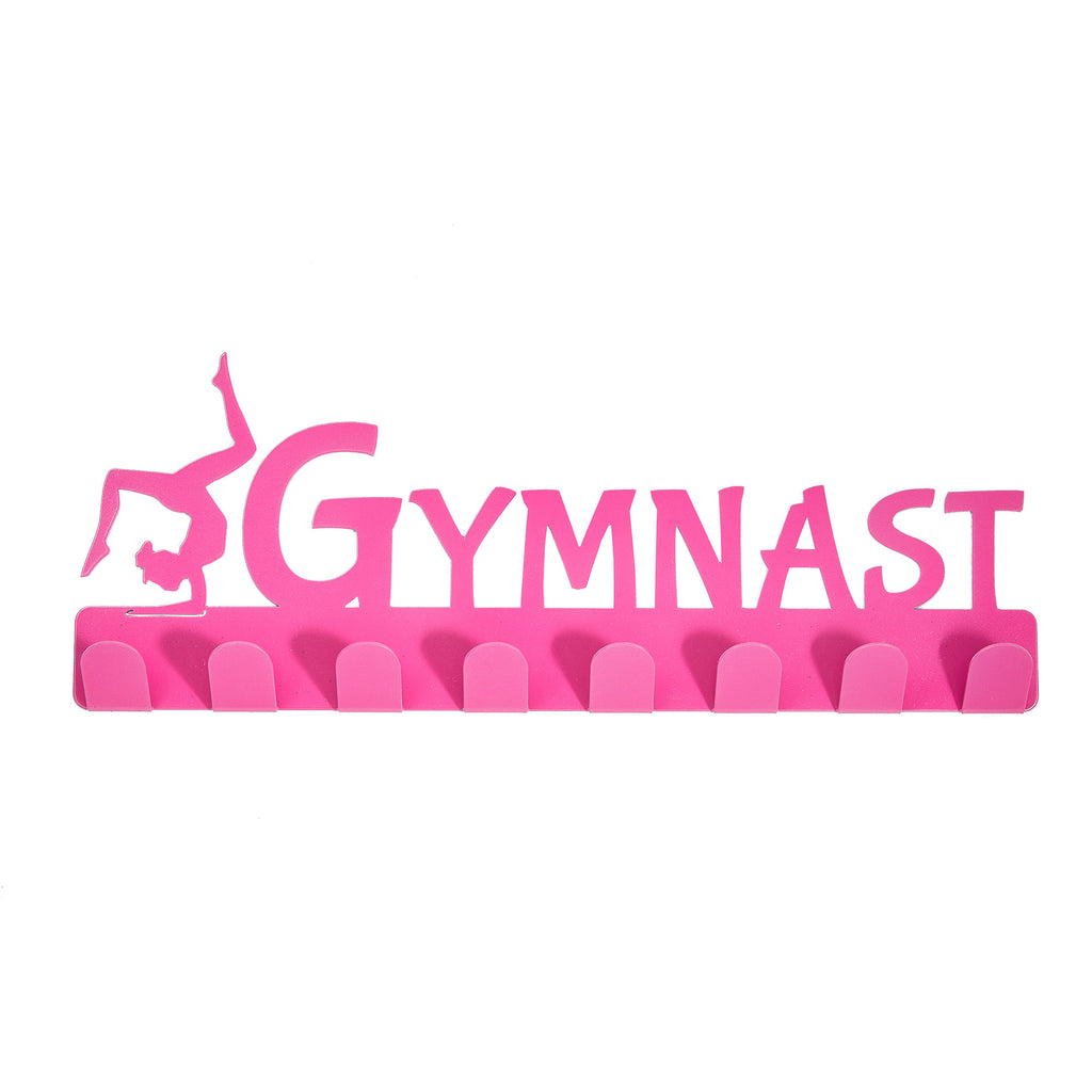 Lizatards 'Gymnast' Medal Rack Hanger- Black, Blue, Purple or Pink