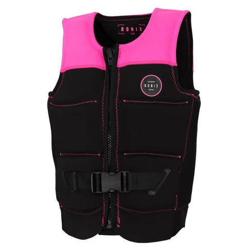 2019 Ronix Signature L50S Womens Vest - Black / Hot Pink
