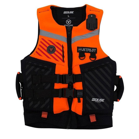 2019 Jetpilot Venture Pwc Neo Vest - Orange Level 50