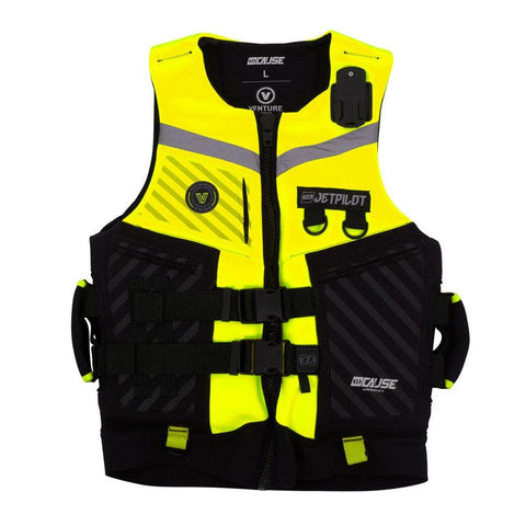 2019 Jetpilot Venture Pwc Neo Vest - Yellow Level 50