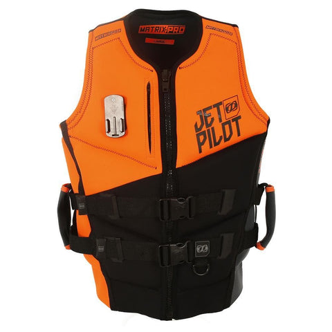 2019 Jetpilot Matrix Pro Pwc F/E Neo Vest - Orange Level 50