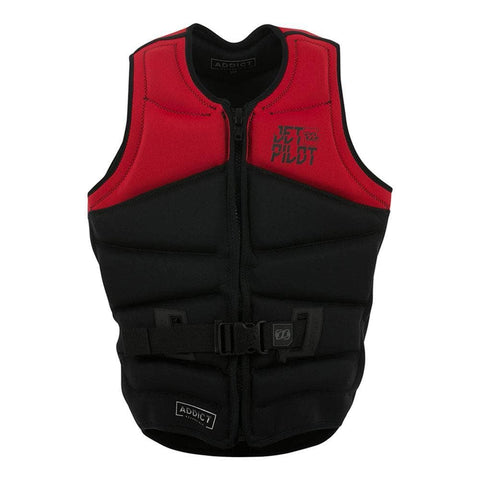 2019 Jetpilot Addict Revers Seg F/E Neo Vest - Red L50/Black