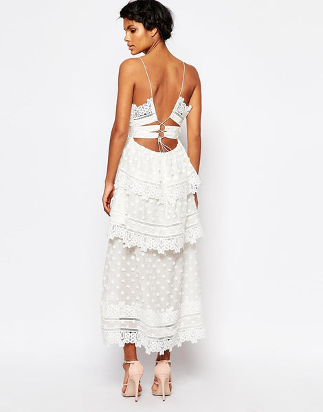 NAPPA dress, white