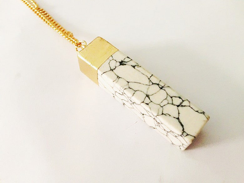MARBLE PENDANT matchstick