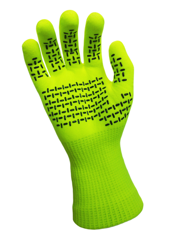 TouchFit Waterproof Gloves Hi-Vis Yellow