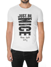 mens slogan t-shirt