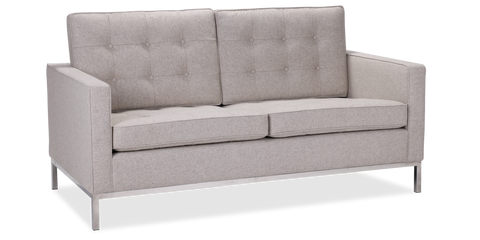 Florence Knoll Style 2 Seater Sofa
