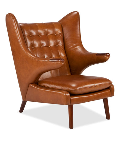 Papa Bear Chair | Premium Leather