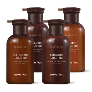 INNISFREE MY HAIR RECIPE SHAMPOO 330ML 4 OPTIONS - impatiivinen