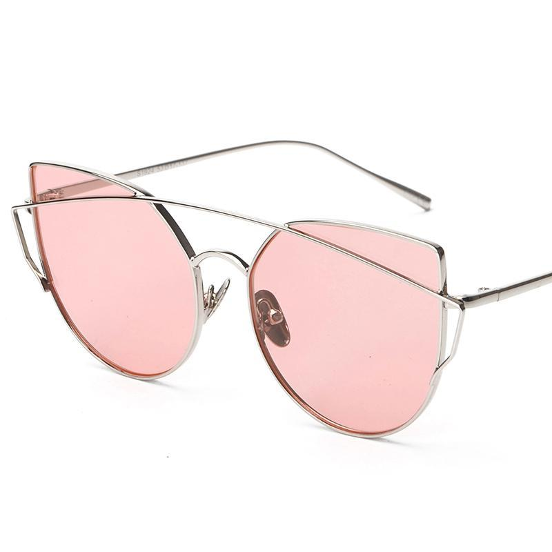 VINTAGE CAT EYE MIRRO SUNGLASSES - impaviidit