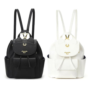 [LIMITED ITEM] ISTEAN SAILOR MOON 25TH ANNIVERSARY BAG VEGAN LEATHER 2 COLORS - impaviid