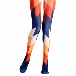 GEOMETRISCHE TIGHTS - impaviid