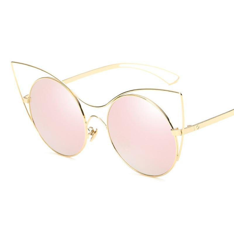 VINTAGE CAT EYE SUNGLASSES MULTIPLE COLORS - impaviid