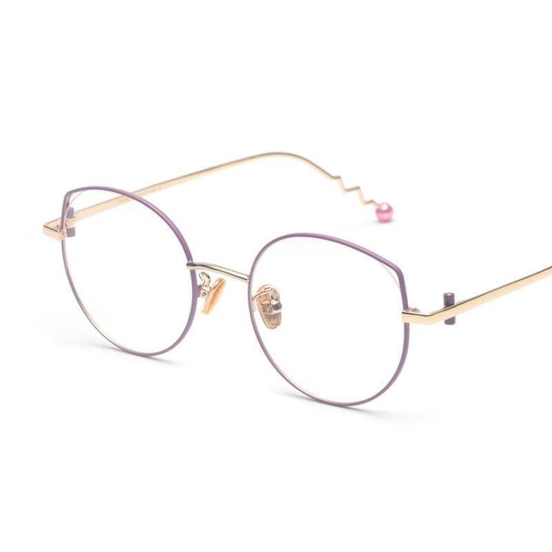 PEARL CLEAR EYEGLASSES MULTIPLE COLORS - impaviid