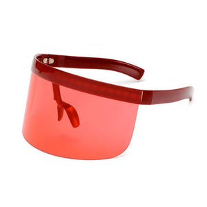 RETRO VISOR SUNGLASSES MULTIPOLI VÄRIT - impaviid