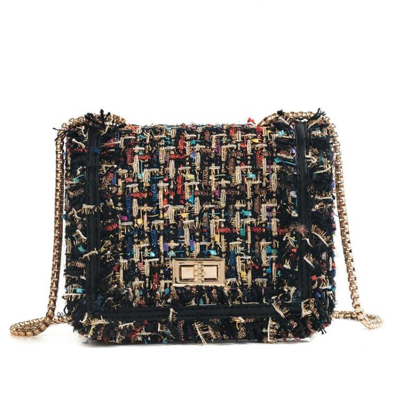 TWEED CHAIN ​​CLUTCH