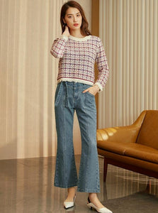 80IN INSPIRED WIDE LEG JEANS - IMPAVIID